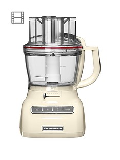 KitchenAid 5KFP1335BAC 3.1L Food Processor - Cream