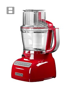 KitchenAid 5KFP1335BER 3.1 Litre Food Processor - Red