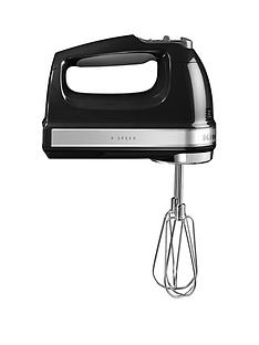 KitchenAid 5KHM9212BOB Hand Mixer - Black