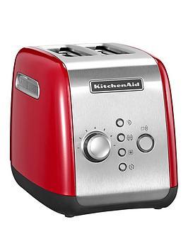 Kitchenaid 5Kmt221Ber 2 Slot Toaster - Red thumbnail