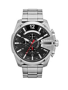 diesel-mega-chief-chronograph-black-dial-and-stainless-steel-bracelet-mens-watch