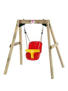 plum-wooden-swing-set