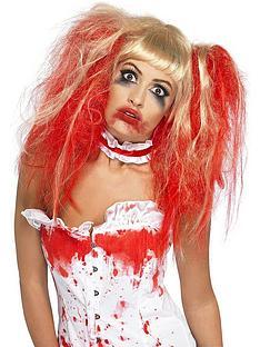 halloween-blood-drip-wig