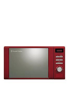 russell-hobbs-rhm2064r-heritage-800-wattnbspmicrowavenbsp--red