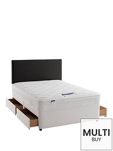 silentnight-miracoil-3-supreme-scroll-divan-bed-with-mattress-options-and-half-price-headboard-offer-buy-and-save