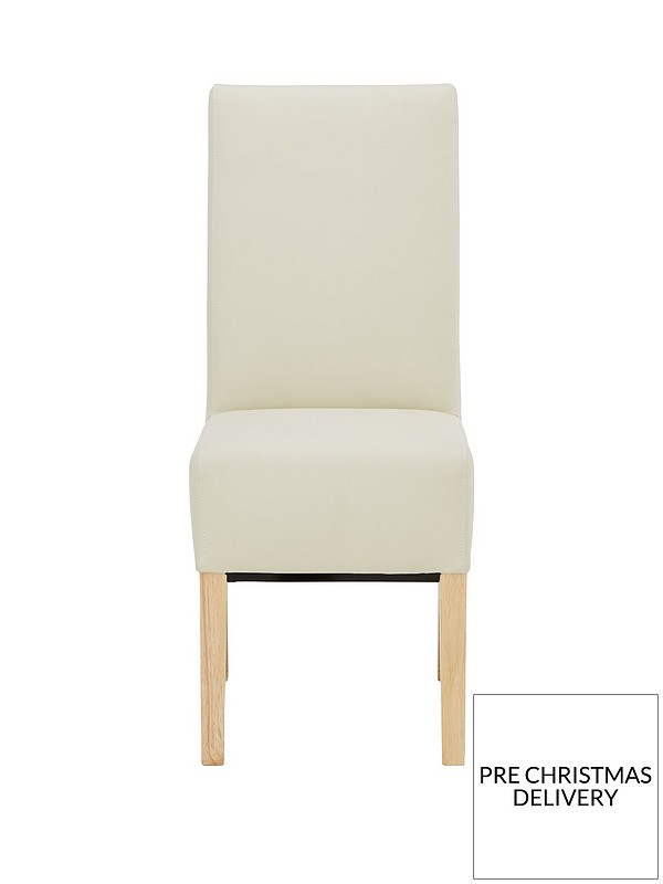 Fantastic Pair Of Eternity Faux Leather Dining Chairs Cjindustries Chair Design For Home Cjindustriesco