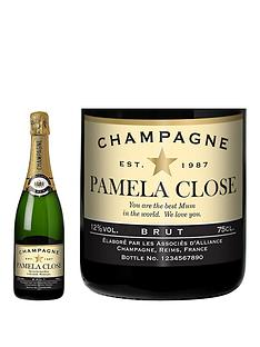 personalised-champagne