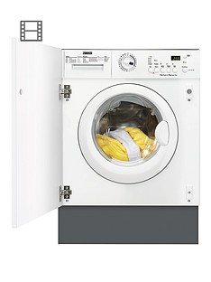 Zanussi ZWT71201WA 7kg Wash, 4kg Dry, 1200 Spin Integrated Washer Dryer