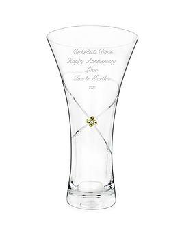 personalised-infinity-diamante-vase-with-swarovski-elements