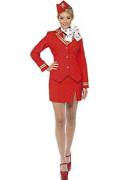 ladies-red-flight-attendant-costume