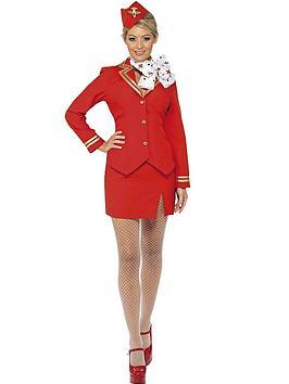 ladies-red-flight-attendant-costume