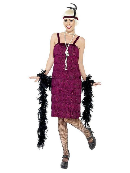 d458c117958 Purple 1920 s Flapper - Adult Costume