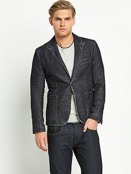 Photo of Boss orange mens bolds textured blazer