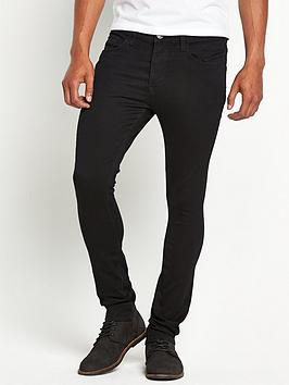 river-island-danny-super-skinny-jeans-black