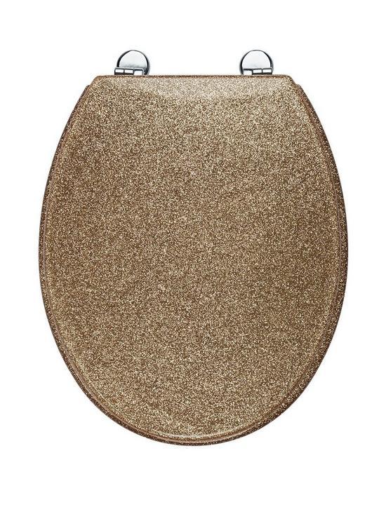 Breathtaking Gold Sparkle Toilet Seat Ideas Ideas House