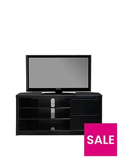 Echo Tall High Gloss Corner TV Unit - fits up to 65 inch TV