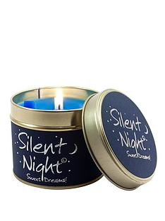 lily-flame-silent-night-tin-candle