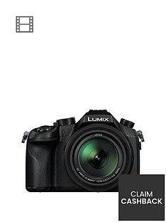 panasonic-lumix-dmc-fz1000eb-bridge-camera-4k-ultra-hd-201mp-16xnbspoptical-zoom-wi-fi-nfc-olednbspviewfinder-3-screen-and-4k-video-recording-with-pound50-cashback