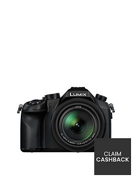 panasonic-lumix-dmc-fz1000eb-bridge-camera-4k-ultra-hd-201mp-16xnbspoptical-zoom-wi-fi-nfc-olednbspviewfinder-3-screen-and-4k-video-recording-with-pound50-cashback