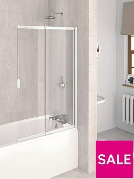 aqualux-aqua-4-2-panel-sliding-bath-screen-1275-x-820mm