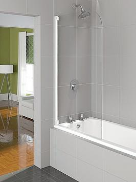 aqualux-aqua-4-half-framed-bath-screen-1400-x-800mm