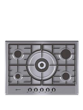 neff-t25s56n0gb-70cm-built-in-gas-hob-stainless-steel