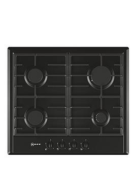 neff-t22s36s0-60cm-built-in-gas-hob-black