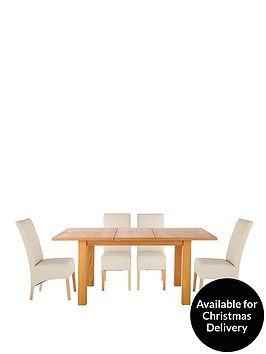 primo-120-160-cm-extending-dining-table-4-eternity-chairs