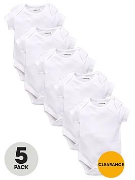 ladybird-baby-unisex-short-sleeve-bodysuits-5-pack