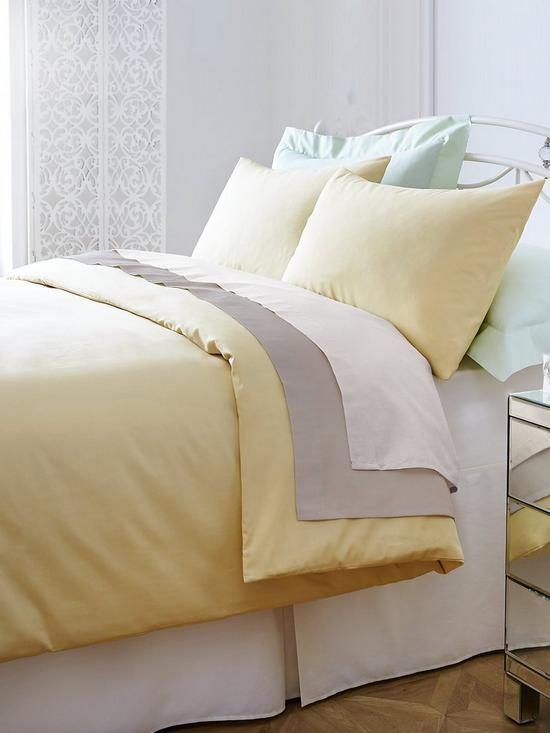 Non Iron Percale 180 Thread Count Extra Deep Fitted Bed Sheet | Very.co.uk