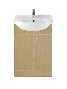 550mm-vanity-unit-with-one-tap-hole-basin-oak