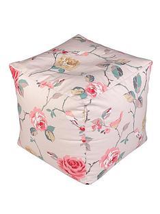 floral-print-cube