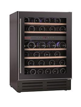 baumatic-bwc605ss-46-bottle-built-in-wine-cooler-black