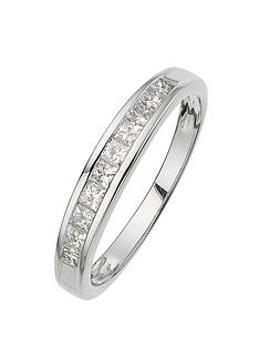 love-diamond-18-carat-white-gold-50-point-princess-cut-diamond-half-eternity-ring