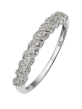 love-diamond-9-carat-white-gold-diamond-half-eternity-ring