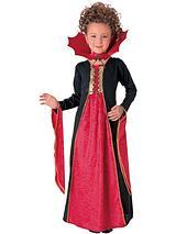 Halloween Gothic Vampiress - Childs Costume