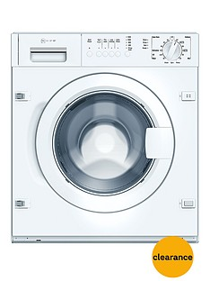 Neff W5420X1Gb 7kg Load, 1200 Spin Integrated Washing Machine - White
