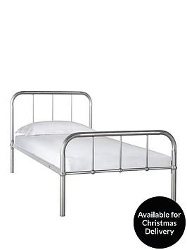 kidspace-dexter-metal-bed-with-optional-mattress
