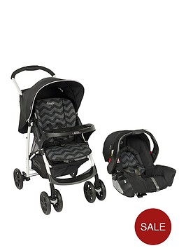graco-mirage-travel-system-black-zig-zag