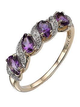 love-gem-9-carat-yellow-gold-amethyst-and-diamond-eternity-ring