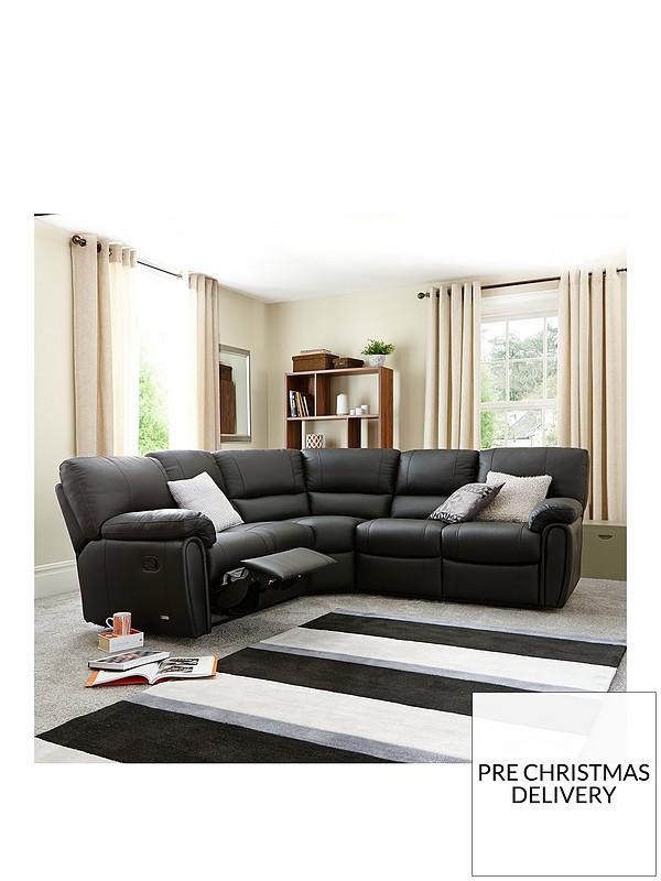 Prime Leighton Leather Faux Leather Reclining Corner Group Sofa Machost Co Dining Chair Design Ideas Machostcouk