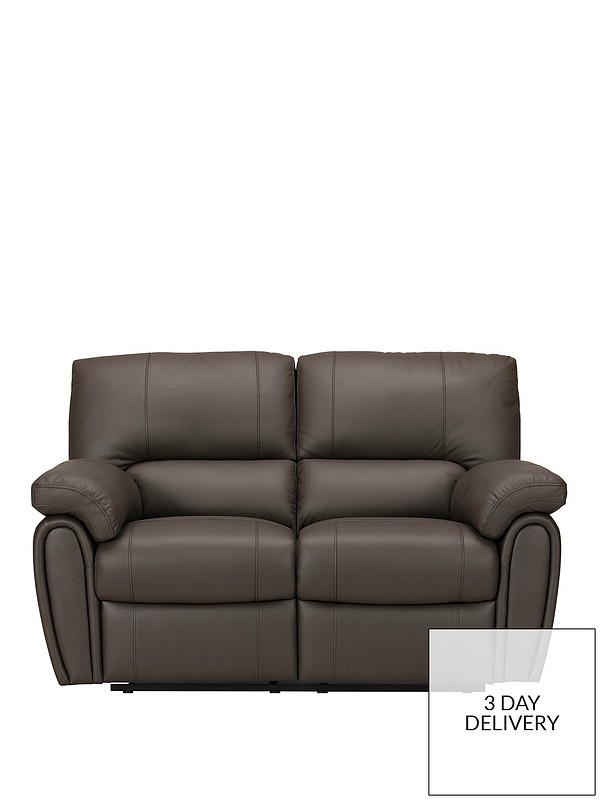 Leighton Leather/Faux Leather 2-Seater Recliner Sofa