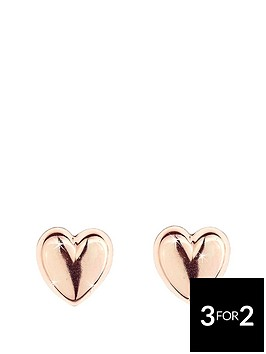 love-gold-9-carat-rose-gold-domed-heart-earrings