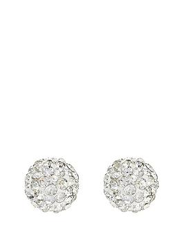 love-gold-9-carat-yellow-gold-glitterball-stud-earrings