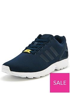 huge discount b2aad be73a adidas Originals ZX Flux Mens Trainers