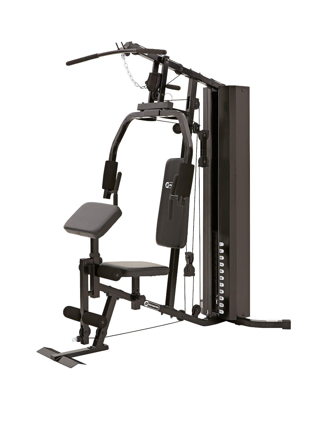 Dynamix compact home gym very