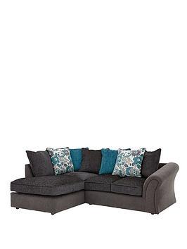 Celina Left Hand Compact Corner Chaise Sofa
