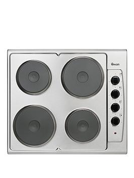 swan-sxb2040s-60-cm-built-in-electric-hob-stainless-steel
