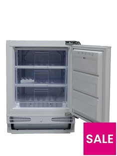 Swan SRB2030W Integrated Under-Counter Freezer