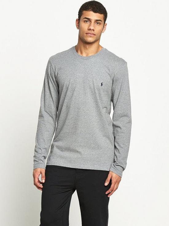 5ac7d22526d0a Polo Ralph Lauren Mens Long Sleeve Crew Tee | very.co.uk